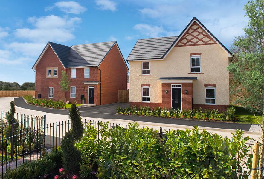Barrat Homes J One Seven development sandbach